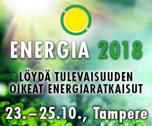 Energia 2018 - 23.-24.10. Tampereella