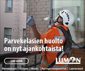 Parvekelasien huolto on nyt ajankohtaista - Lumon