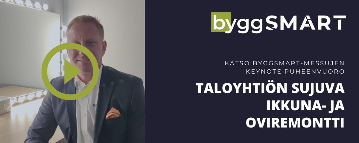 Katso Keynote puheenvuoro Taloyhtiön Ikkuna- ja oviremontti